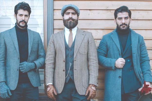 Трое мужчин, живущих в Иракском Курдистане