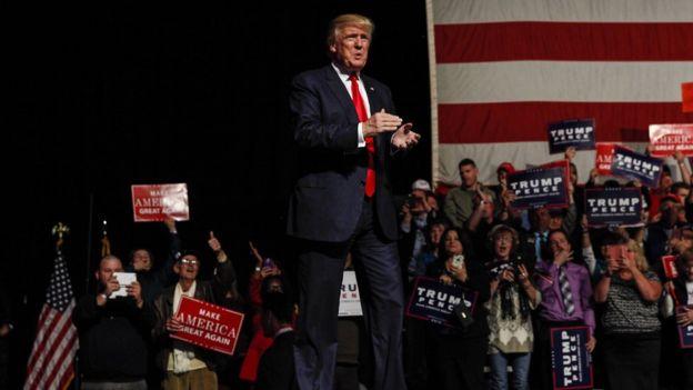 Trump en Nuevo Hampshire