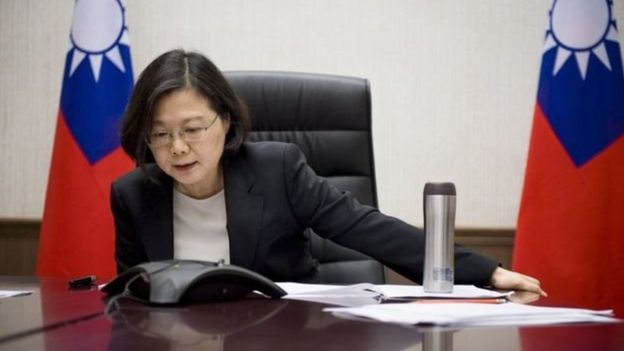 Tổng thống Đài Loan Thái Anh Văn điện đàm với ông Trump hồi đầu tháng 12/2016, phá lệ lễ tân ngoại giao Mỹ sau nhiều thập kỷ