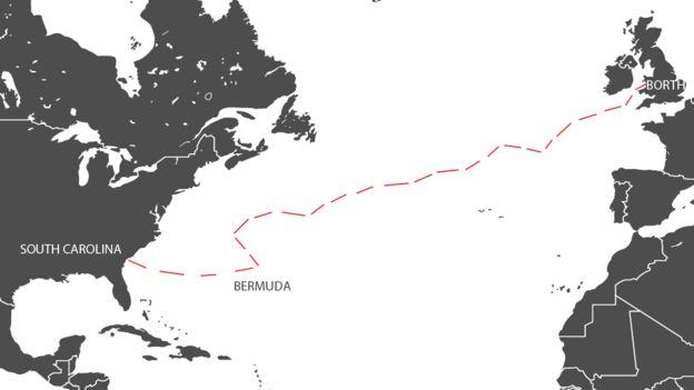 Карта маршрута лодка взяла