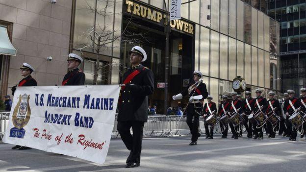 Trump, New York