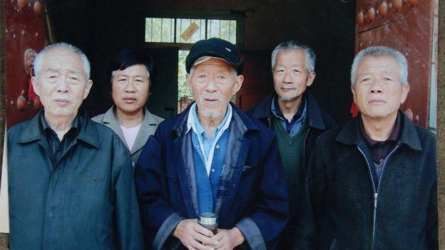 王琪在中国的亲人照片