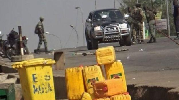 لجنود الجيش بساحل العاج