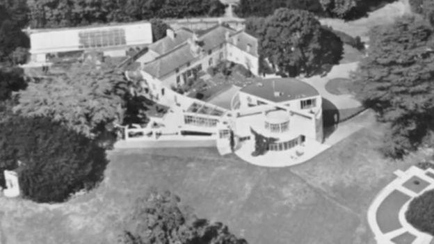 La casa blanca de Tunnard