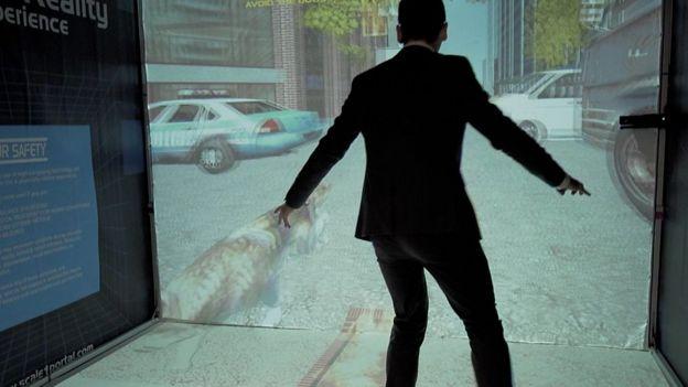 Este juego de realidad virtual no requiere de casco.