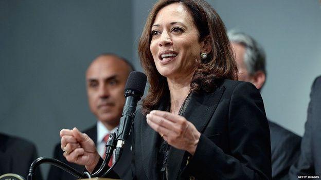 کامالا هریس، سناتور کالیفرنیا
