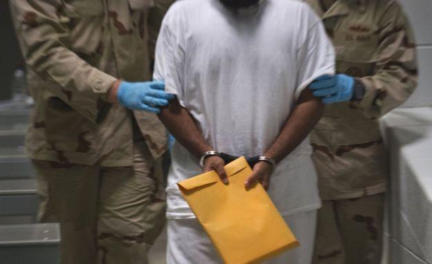 Detenido en Guantánamo en 2010.