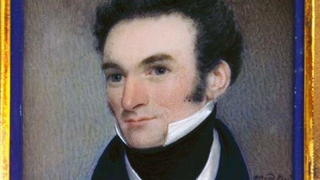 James Busby portresi