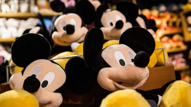 Peluches de Mickey Mouse