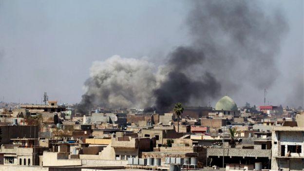 Bombardeio em Mosul