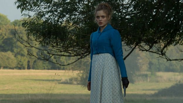 Bella Heathcote in Pride and Prejudice and Zombies