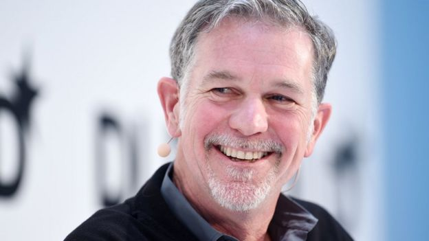 Netflix boss Reid Hastings