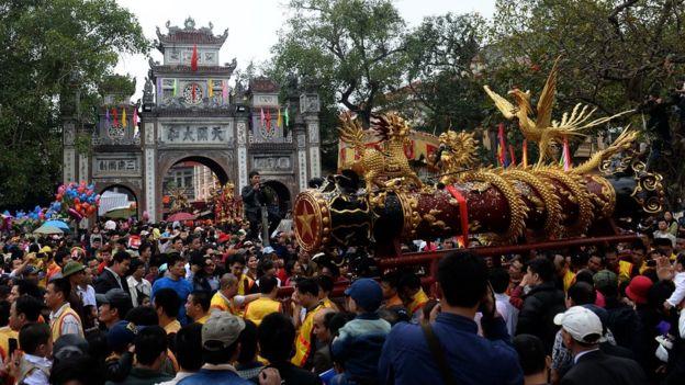 Hội pháo Đồng Kỵ, Bắc Ninh, Việt Nam