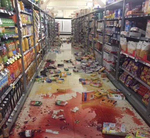 Un supermercado de la cadena Fresh Choice en Nelson, Nueva Zelanda.