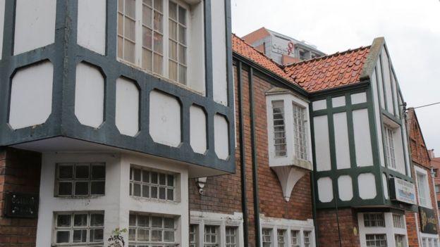 Casa de estilo inglés en Bogotá.