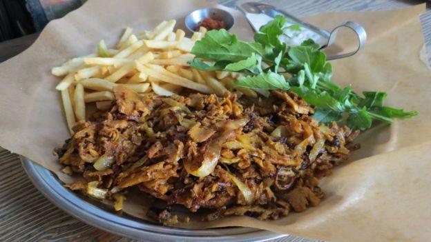 Plate of vegan