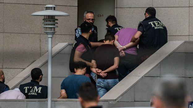 Türkiye tutuklamalar