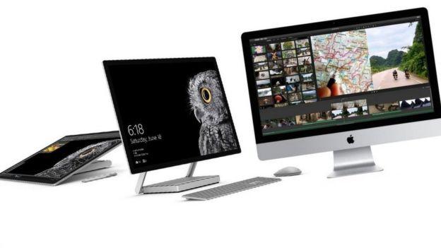 Mac y Surface