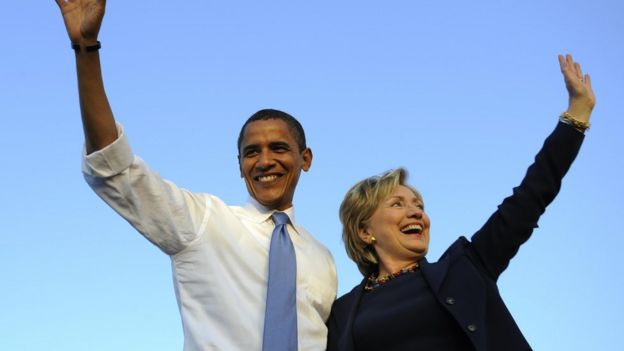 Obama'dan Clinton'a Destek