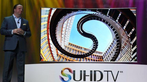 Samsung quantum dot TV