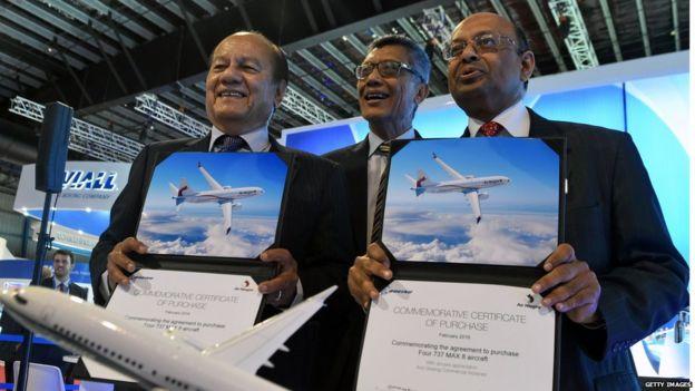 Papua New Guinea's Air Niugini announced an order for four Boeing 737 MAX