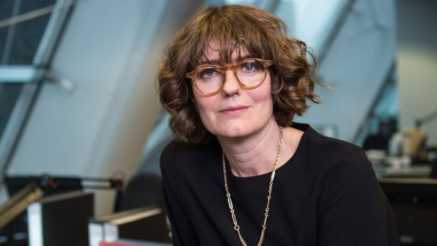 Anna Chancellor plays SFO director Eleanor Davies