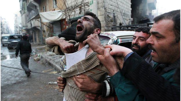 Víctima del conflicto sirio
