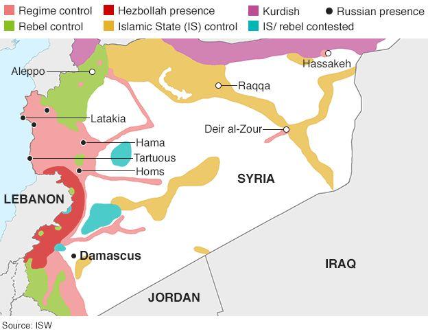 【转载】关于俄罗斯在叙利亚空袭isis目标