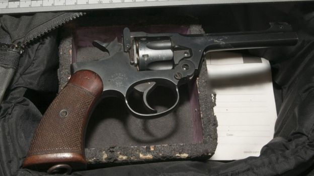 Gun used to kill Rita King