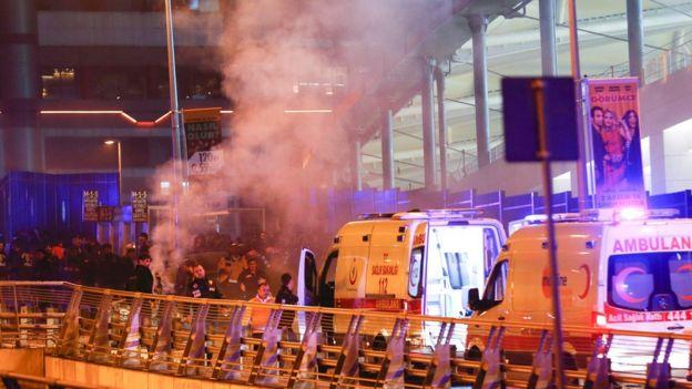 Ataque en Estambul