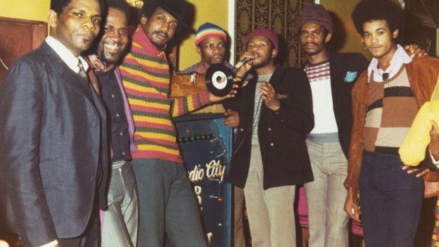 Studio City sound crew 1974