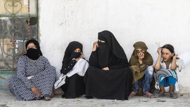 Mujeres bajo la ley islámica en Siria