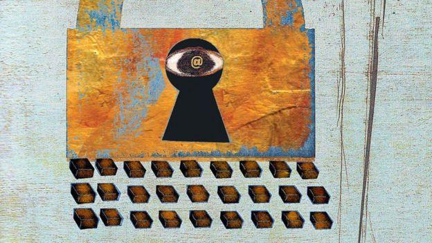 Arte sobre segurança online