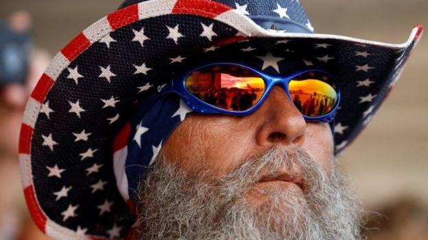 أحد مؤيدي ترامب في فلوريدا