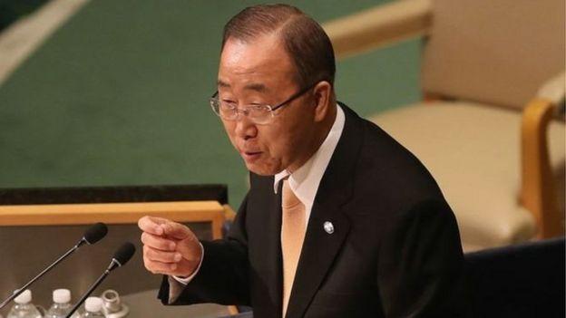 اتهام أقارب بأن كي مون الأمين العام السابق للأمم المتحدة بالرشوة