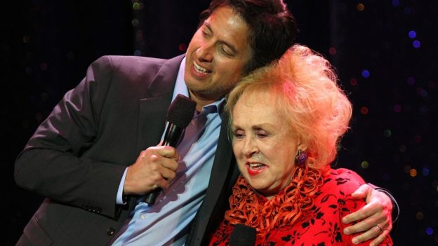 Ray Romano and Doris Roberts