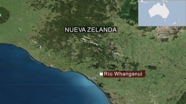 Mapa del Nueva Zelanda