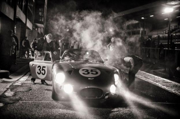 Aston Martin pit lane