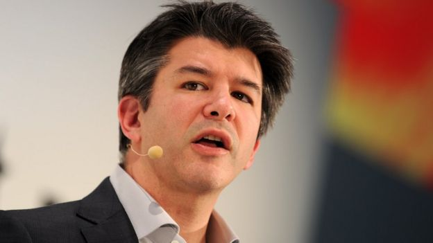 Travis Kalanick, CEO do Uber