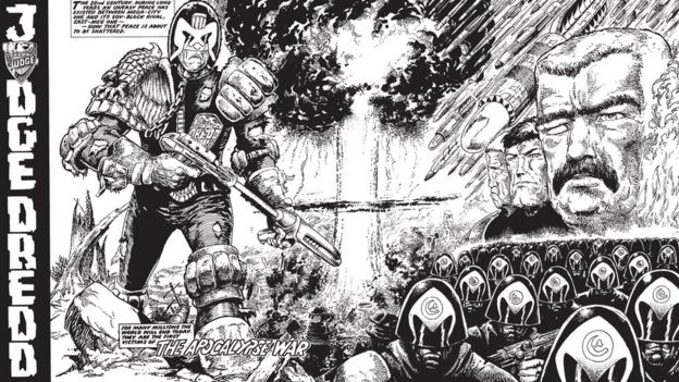 Judge Dredd in Apocalypse War