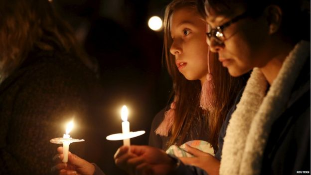 Attendees reflect on the tragedy of Wednesday