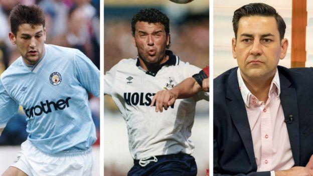 David White, Paul Stewart & Andy Woodward