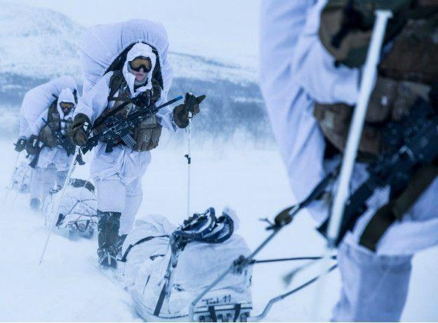 Mujeres de la fuerza de élite noruega