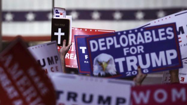 Apoiadores de Trump