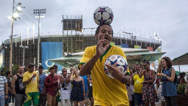 La alegría en las calles de Río
