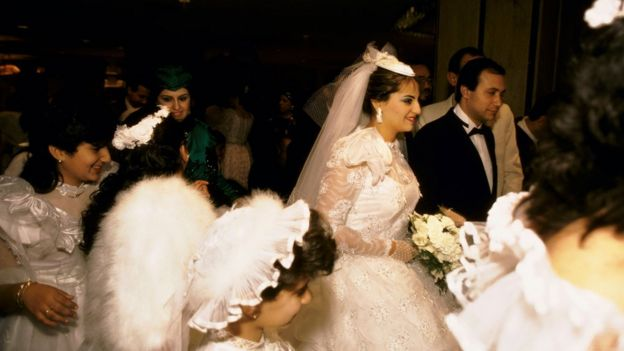 A generic picture of an Egyptian wedding
