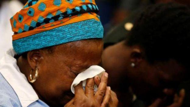Mamake Mloshwa alishindwa kujizuia wakati wa kusikizwa kwa kesi hiyo
