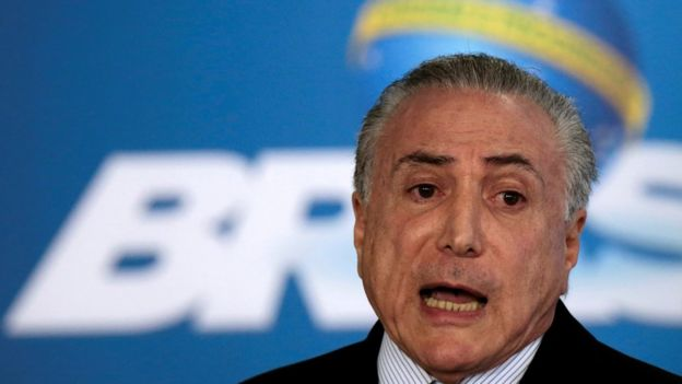 Presidente interino, Michel Temer
