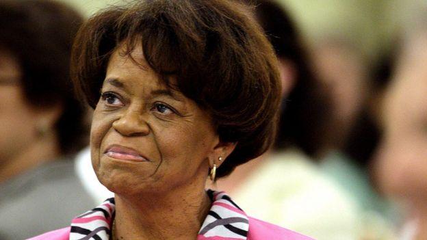 Marian Robinson, madre de Michelle Obama.