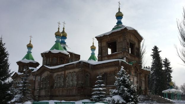 Russian Orthodox church in Karakol